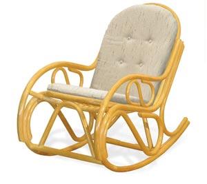 Кресло качалка 05 04 из ротанга с